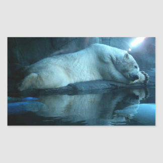 Polar Bear In Prayer 2 Stickers