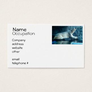 Polar Bear In Prayer Business Cards