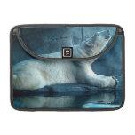 Polar Bear In Prayer Case MacBook Pro Sleeves
