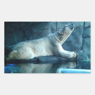 Polar Bear In Prayer Sticker
