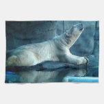 Polar Bear In Prayer Towel