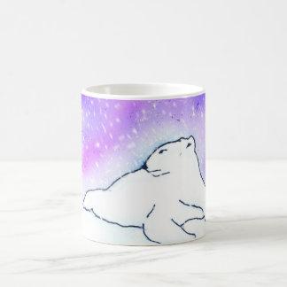 Polar Bear in the Snow ! (K.Turnbull Art) Coffee Mug