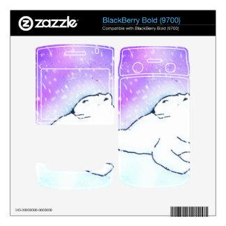 Polar Bear in the Snow ! (K.Turnbull Art) Skins For BlackBerry