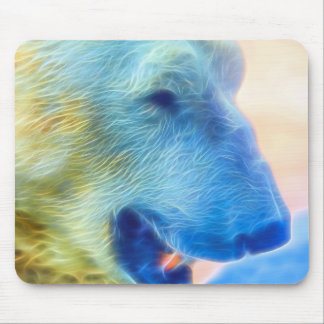 Polar Bear Inflamed Mouse Pad