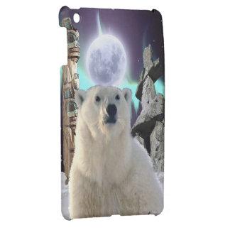 Polar Bear, Inukshuk & Totem Pole Arctic Animal iPad Mini Covers