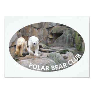 POLAR BEAR invitation - customize