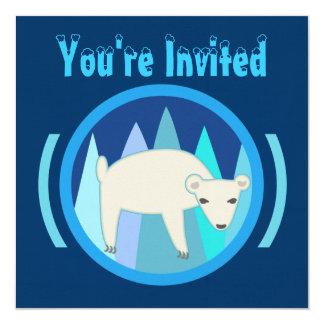 Polar Bear Invitations