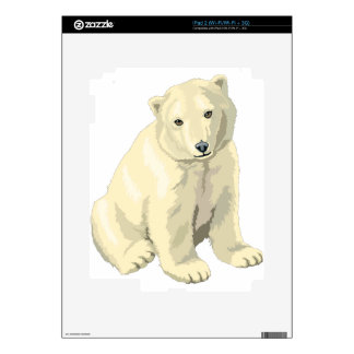Polar bear iPad 2 skins