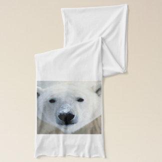 Polar Bear Jersey Scarf