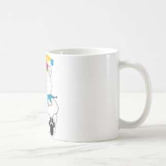 Polar Bear Jester Coffee Mug