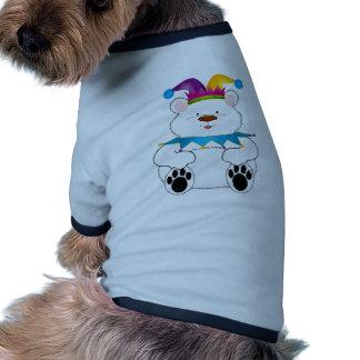 Polar Bear Jester Doggie T Shirt