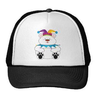 Polar Bear Jester Trucker Hat
