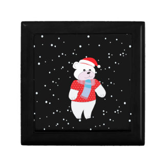 polar bear jewelry box