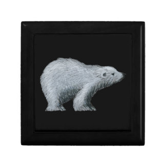 Polar Bear Jewelry Box Keepsake Box