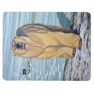 Polar Bear Journal Custom Polar Bear Art Notebook