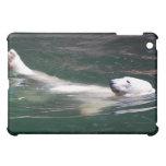 Polar bear just lazing case for the iPad mini