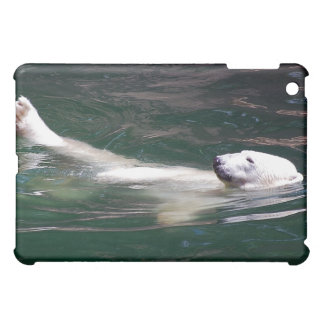 Polar bear just lazing cover for the iPad mini