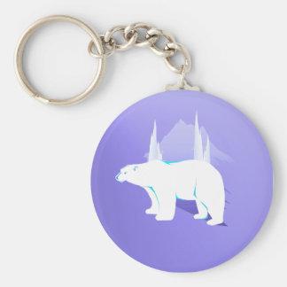 Polar Bear Keychain