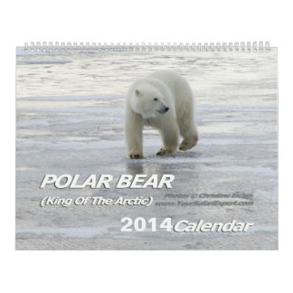 POLAR BEAR King of the Arctic Calendar 2014 2-Pg.