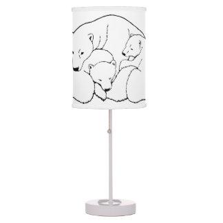 Polar Bear Lamp Baby Bears Art Lamps
