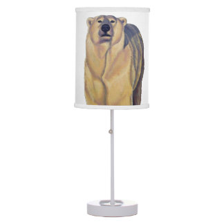 Polar Bear Lamp Bear Art Lamp Wildlife Gifts