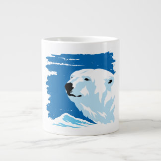 POLAR BEAR LARGE COFFEE MUG