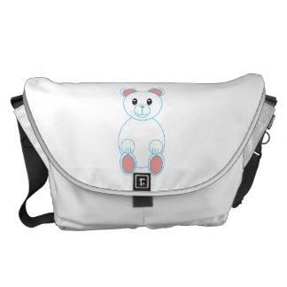 Polar Bear Large Messenger Bags