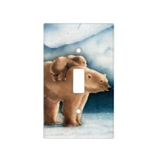 Polar Bear Light Switch Plate