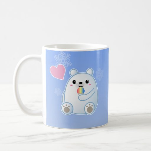 Polar Bear Love Classic White Coffee Mug