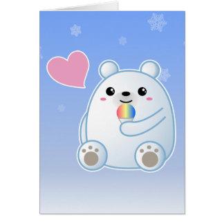 Polar Bear Love Greeting Card