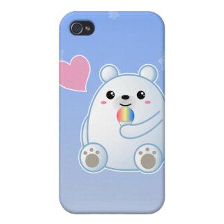 Polar Bear Love Cases For iPhone 4