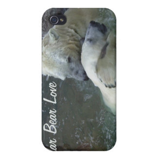 Polar Bear Love iPhone 4 Covers