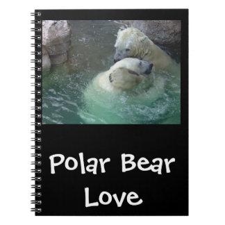 Polar Bear Love Notebook