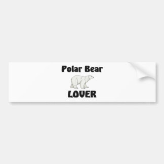 Polar Bear Lover Bumper Sticker