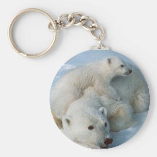 Polar Bear Lovers Gifts Keychain