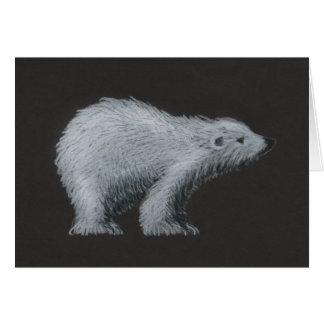 Polar Bear Low Vision Christmas Card