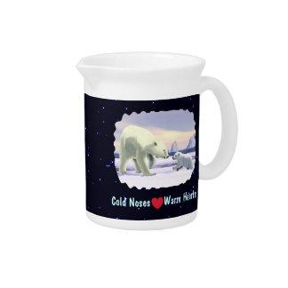Polar Bear - Mama Nose Best Beverage Pitchers
