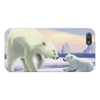 Polar Bear - Mama Nose Best Case For iPhone SE/5/5s