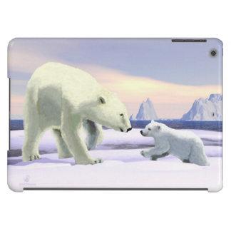 Polar Bear - Mama Nose Best iPad Air Case