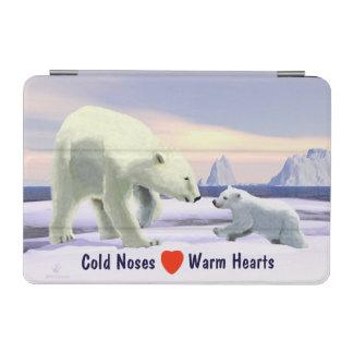 Polar Bear - Mama Nose Best iPad Mini Cover