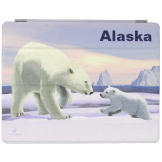 Polar Bear - Mama Nose Best iPad Smart Cover