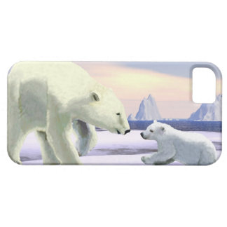 Polar Bear - Mama Nose Best iPhone SE/5/5s Case