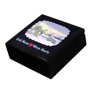 Polar Bear - Mama Nose Best Jewelry Box
