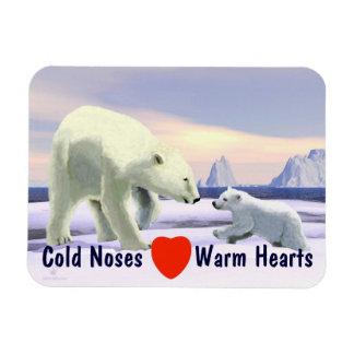 Polar Bear - Mama Nose Best Magnet
