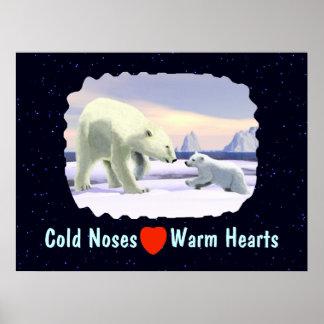 Polar Bear - Mama Nose Best Poster