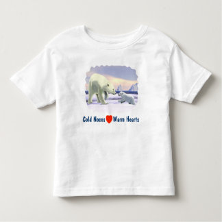 Polar Bear - Mama Nose Best Toddler T-shirt