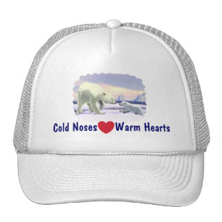 Polar Bear - Mama Nose Best Trucker Hat