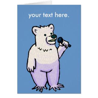 Polar Bear Mike Card