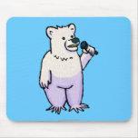 Polar Bear Mike Mouse Pad