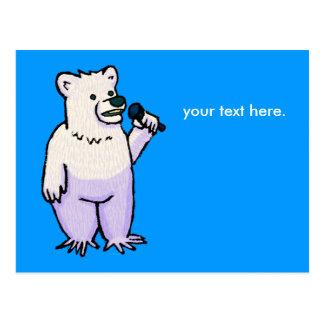 Polar Bear Mike Postcard